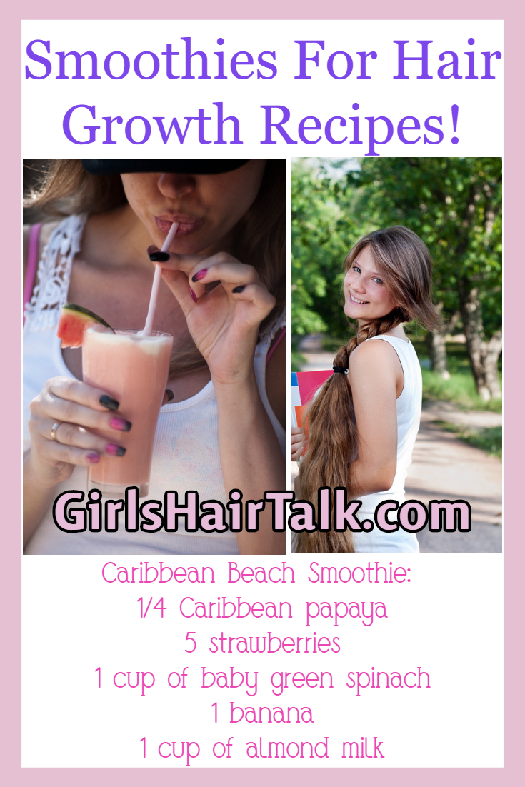 Girl drinking a smoothie!