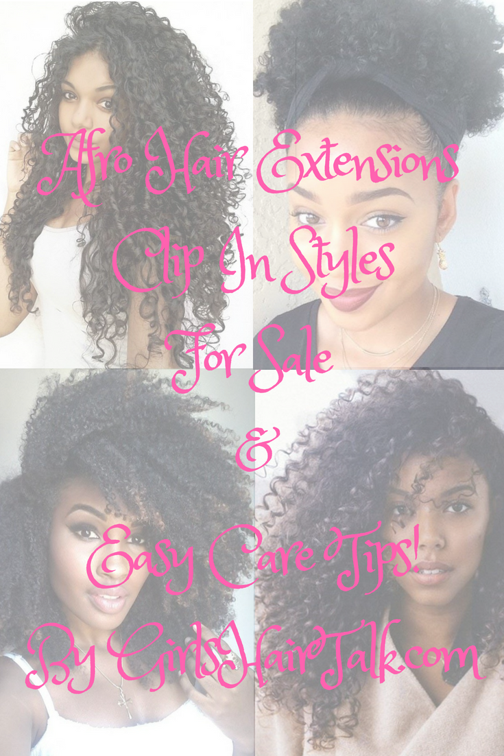 Afro Hair Extensions Clip In Styles For Sale Easy Care Tips
