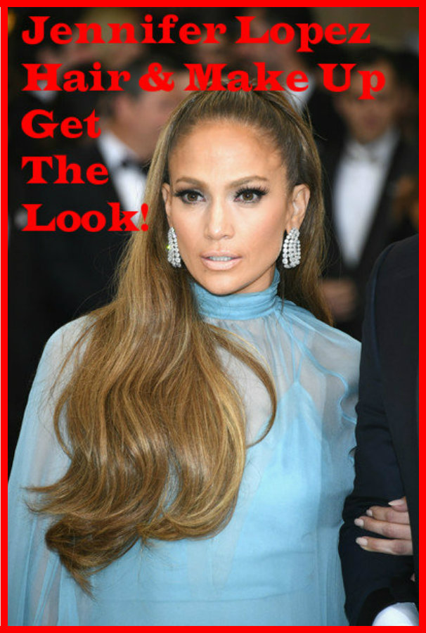 Jennifer Lopez Hair Style Similar Make Up Shades Get Her Look