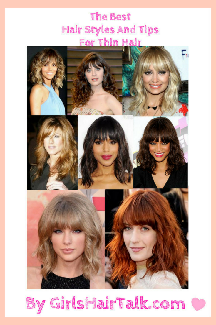 Haircuts For Thin Hair, To Make Hair Look Thicker Instantly!