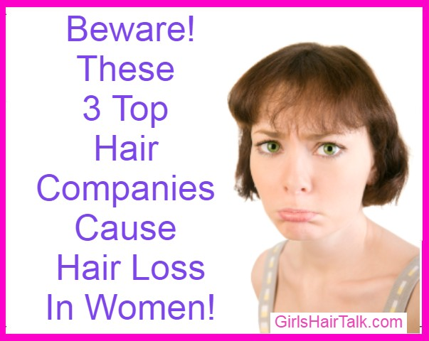 Woman sad with short brunette hair has a pouts her face because of products that caused her hair loss.